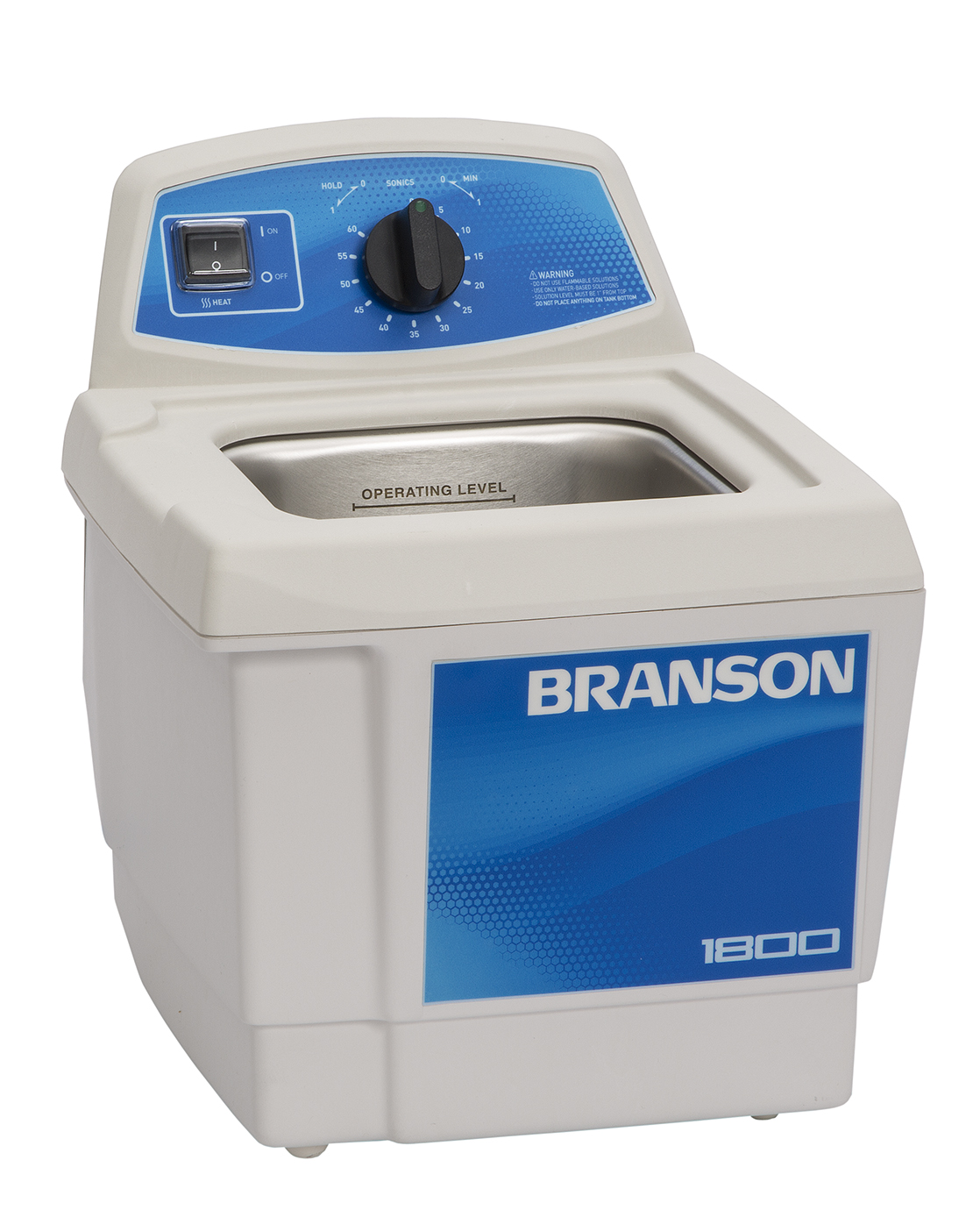 ultrasonic cleaners mechanically controlled with heater